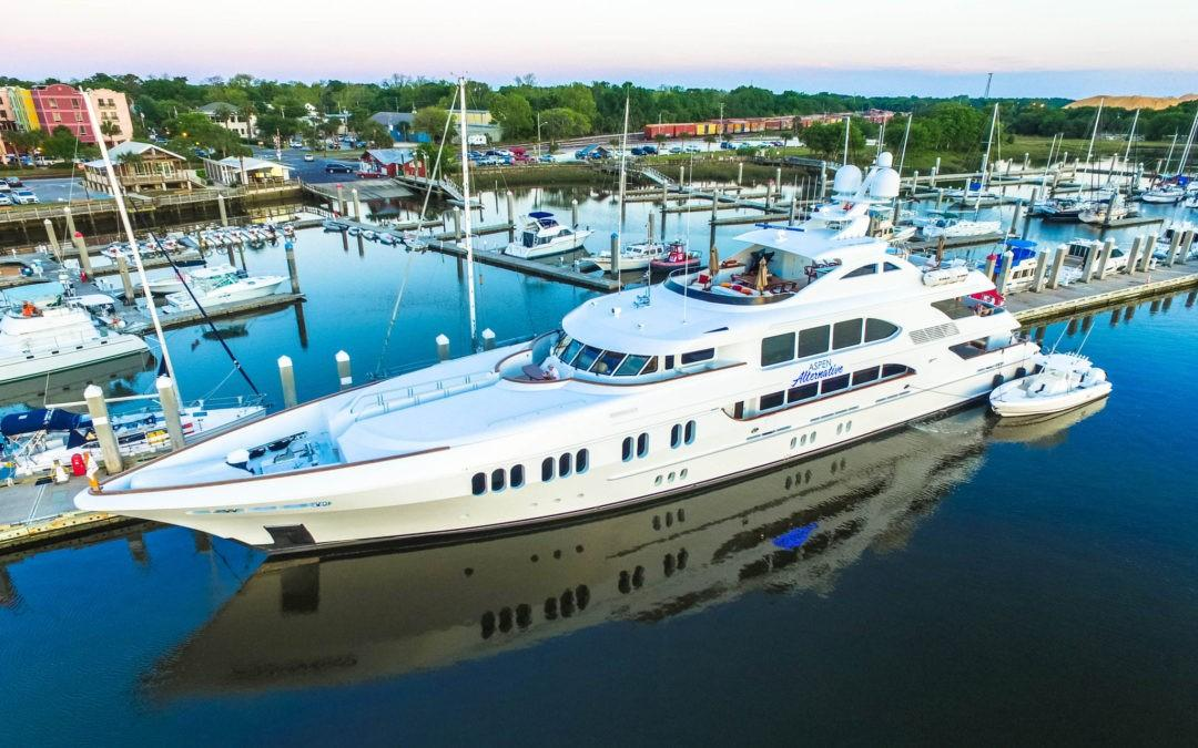 ASPEN ALTERNATIVE, 164′ TRINITY, AVAILABLE FOR CHARTER THIS SUMMER IN NEW ENGLAND!
