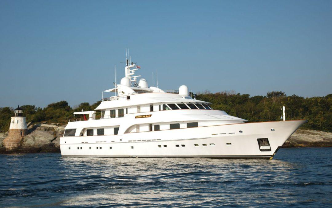 SUPERYACHT SALES AND CHARTER SELLS CRACKER BAY, 147′ HAKVOORT
