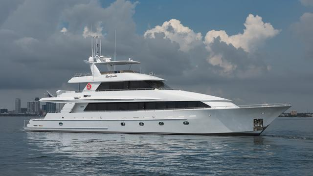 Mas Grande Superyacht is Back on the Market For Sale!