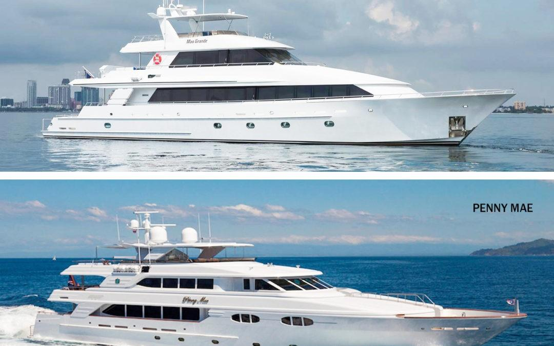 MAS GRANDE & PENNY MAE SOLD by SUPERYACHT SALES AND CHARTER