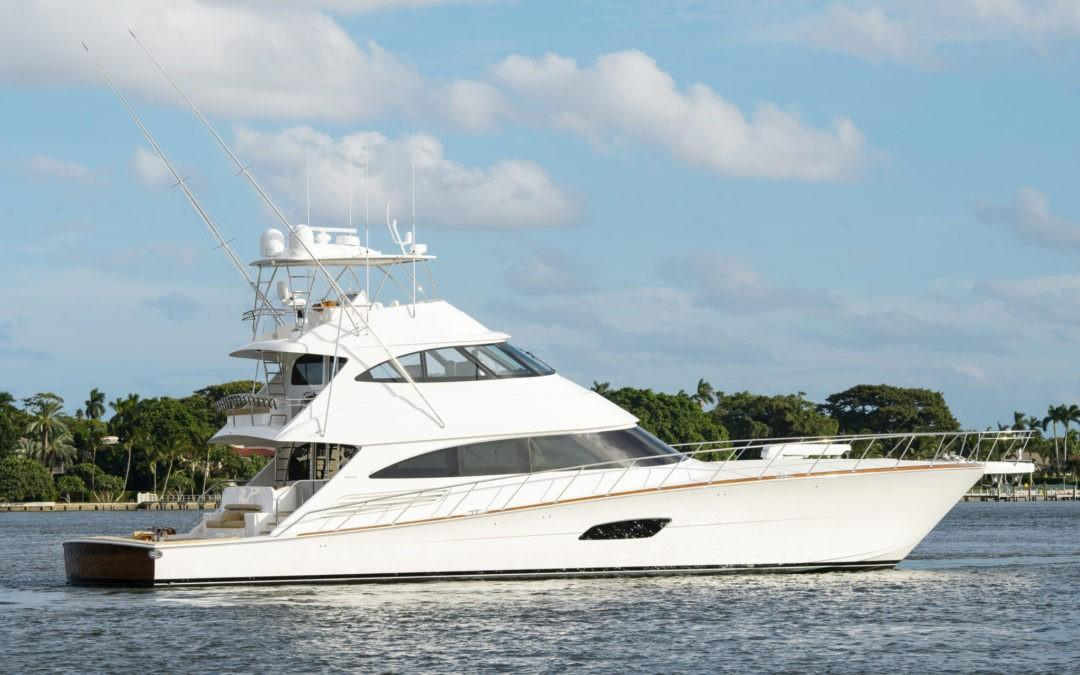 Mustang Sally, 92' Viking SOLD by SUPERYACHT SALES AND CHARTER