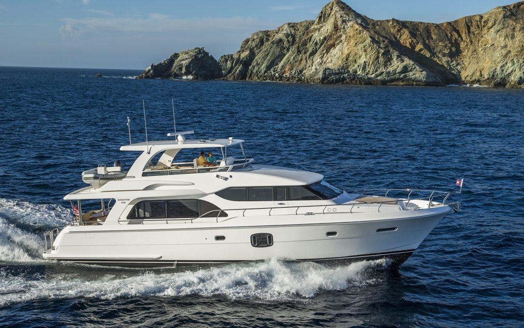 Hampton 650 Motor Yacht 2018 SOLD by SUPERYACHT SALES AND CHARTER