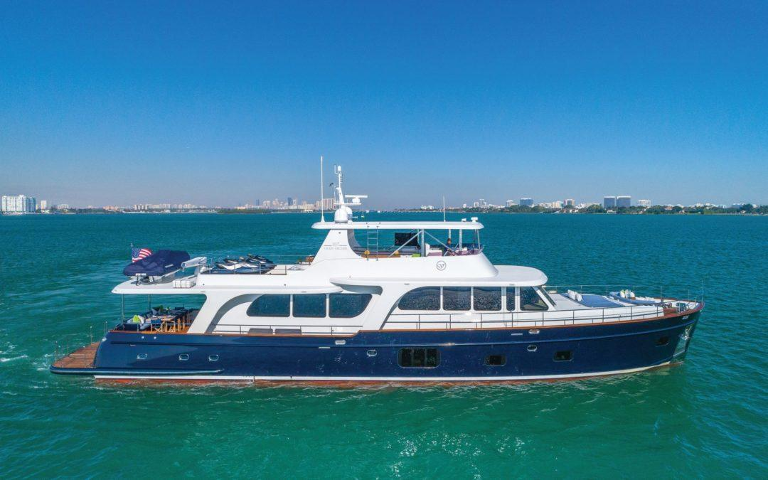 MONI is available for Sale and Charter