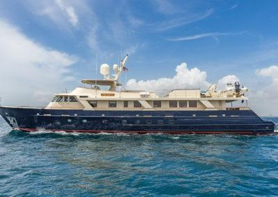 124 ARIADNE Charter yacht profile