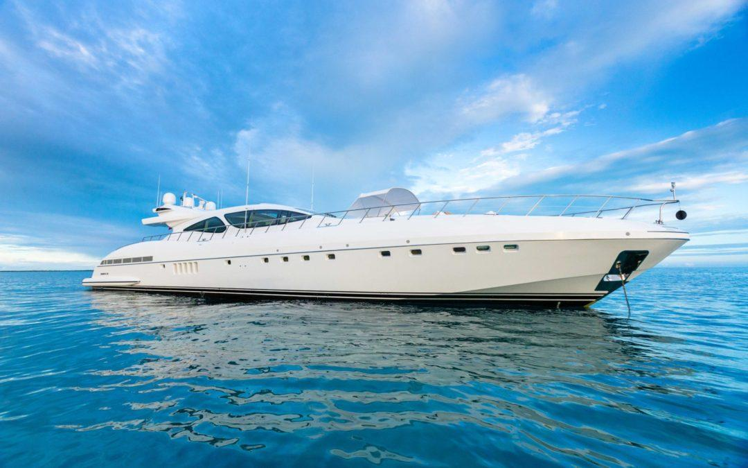 Mangusta 130 INCOGNITO Newest Addition to Sales Fleet