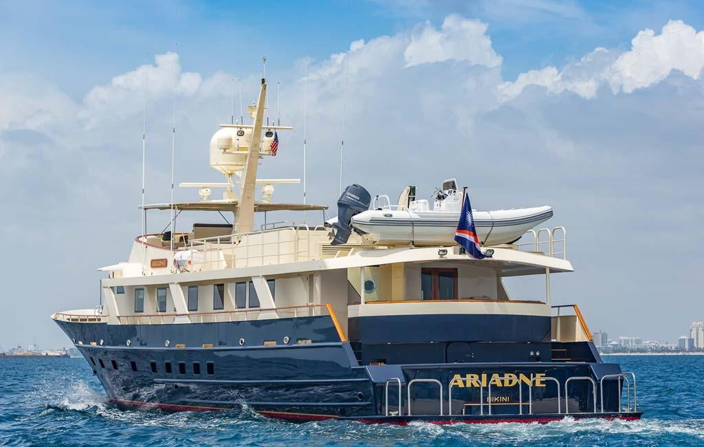 Charter Yacht ARIADNE Refit Featured in Yachting Magazine