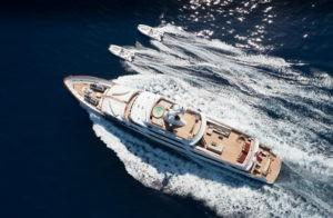 Feadship Mirage Aerial