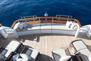 Feadship Mirage Aft Deck