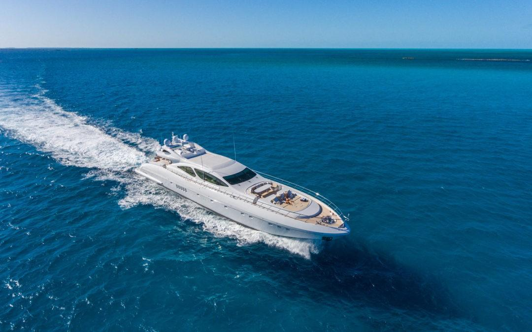 Superyacht Sales & Charter Sells 130 Mangusta INCOGNITO