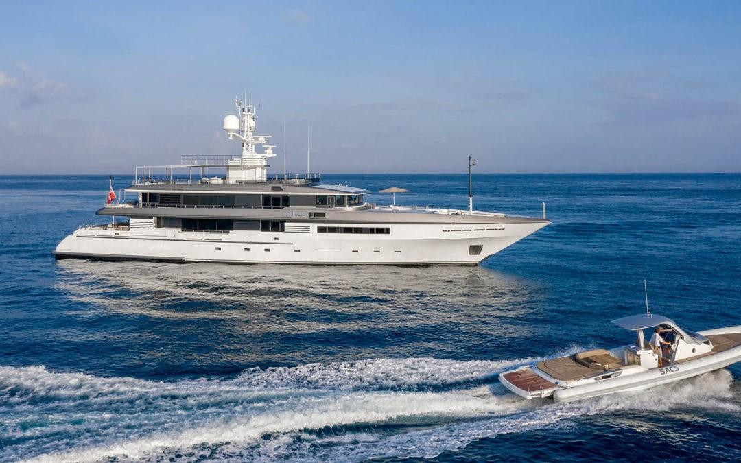 167′ Codecasa ATLAS Joins Charter Fleet