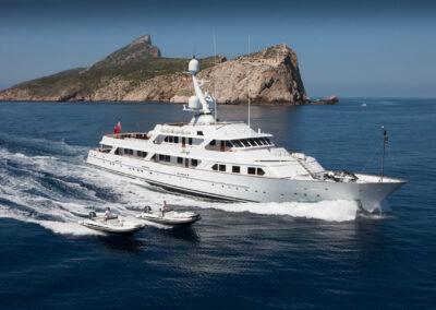 53m-Feadship-Mirage-luxury-yacht-charter-aerial-1