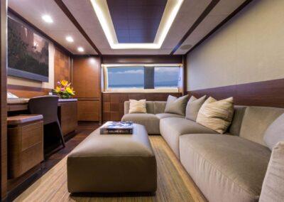 105-Azimut-Amanecer-luxury-yacht-charter-media-room-2